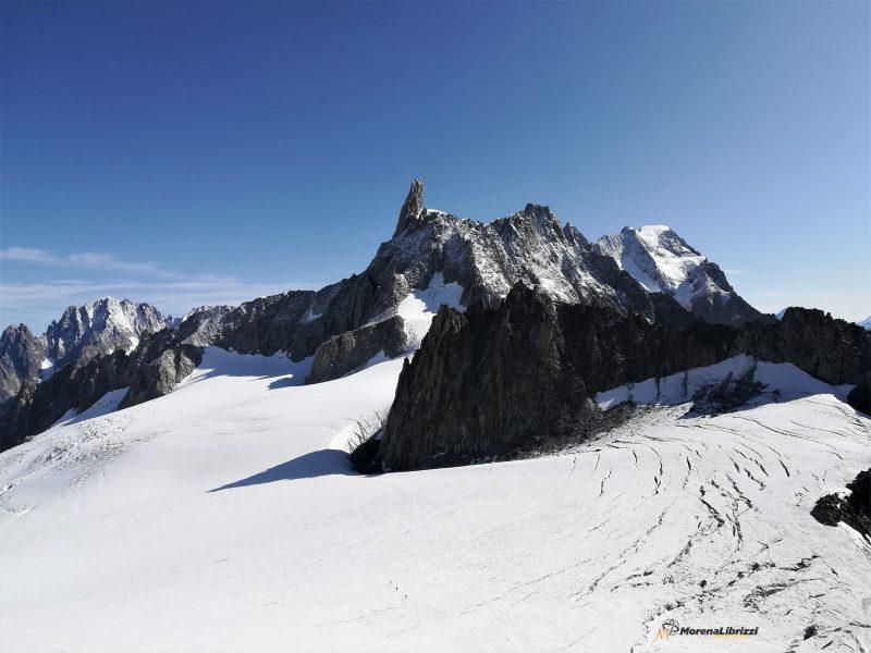 Sua Maestà Il Monte Bianco Tra Terra E Cielo